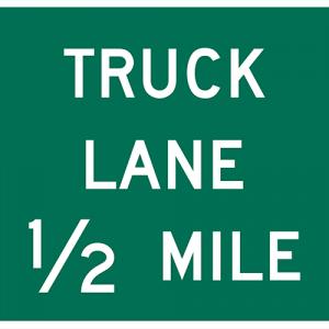 TRUCK LANE X MILES